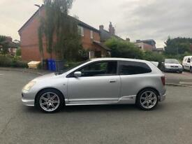 Honda Civic Type R EP3 FSH HPI clear Solid
