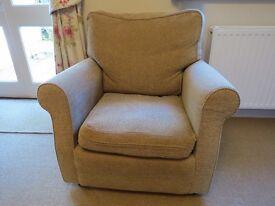 Small vintage armchair