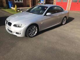 BMW M-sport 320i hard top convertible
