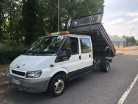 Ford transit 125PS t350 LWB tipper (53) REG NO VAT MOT