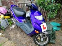 Adly TB 125cc Moped & accessories
