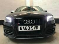 2011 Audi S3 2.0T FSI Auto Black 71000 Miles