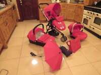 Baby Elegance Beep Travel System (Inc Sunbrella)