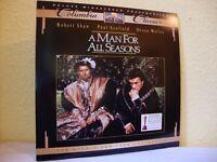 A Man For All Seasons. NTSC laserdisc. Columbia Classics deluxe widescreen presentation.