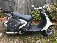 Aprilia Mojito 125cc custom scooter