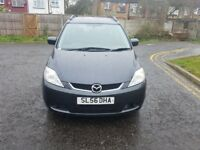 2007 Mazda5 2.0 D TS2 5dr Manual 7 Seater Family Car @07445775115 1 Owner+Low Miles Price 2480£