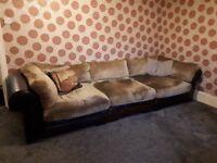 Large 4 /5 seat sofa.