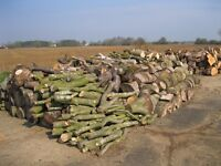 Fire wood Discount price, cord wood or in the round per transit load