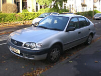 Toyota Corolla (2001), very low miles, great condition, 1 year MOT