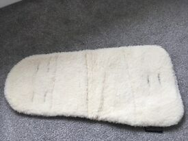 Baby pram liner, wool, woollibaloo, new without tags
