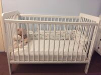Cotbed and mattress for sale - as soon as possible
