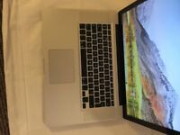 MacBook Pro 15 Inch i7 High Sierra 10.13/8GB Ram/320GBHDD Good Working Condition And Charger