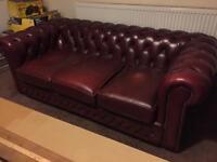 2 x Chesterfield Sofas