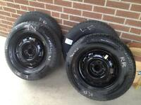 Michelin Winter Tires on Rims 185/70/R14