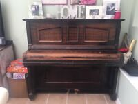 FREE Skerratt upright piano. Quite old. Needs some tlc.