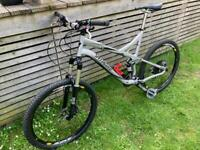 Specialized full suspension mountain bike