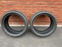 """Set of 2 - Bridgestone Turanza 19"""" Run Flats 255/35/R19"""