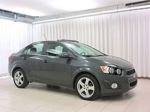 2015 Chevrolet Sonic IT'S A MUST SEE!!! LT SEDAN w/ SUNROOF, BLU