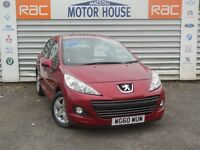 Peugeot 207 ENVY (ONLY 27000 MILES) FREE MOT'S AS LONG A YOU OWN THE CAR!!! (red) 2011
