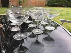 9 Baby Cham style glasses great for a party
