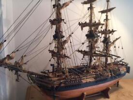 Stunning Antique Model Of HMS Bounty