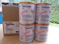 Neocate lcp infant formula. 4 tins