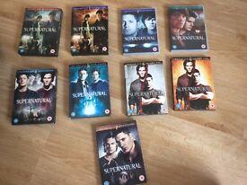 BOX SET SUPERNATURAL DVDs (SEASONS 1 - 7)