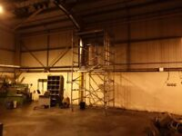 YOUNGMAN BOSS SCAFFOLD TOWER 6FT X 5FT X 14FT