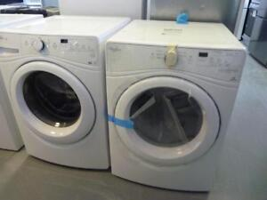 31-  Laveuse / Secheuse  Frontales  WHIRLPOOLDUET Frontload  Washer / Dryer