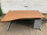 Walnut office desks for sale