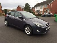 2013 FORD FOCUS ZETEC(START/STOP) 1.6 TDCI, 12 MONTH MOT, SERVICE HISTORY, HPI CLEAR, 70k MILEAGE,