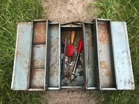 Metal cantilever toolbox