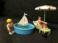 Playmobil = paddling pool set