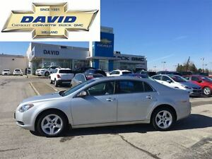 2011 Chevrolet Malibu LS, 2.4L, LOW KM'S, LOCAL TRADE!!