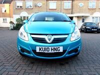 VAUXHALL CORSA 1.4I EXCLUSIVE AUTOMATIC 5 DOOR HATCHBACK FSH HPI CLEAR 2 KEYS EXCELLENT CONDITION