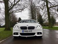 BMW 520d M Sport Auto, 2015 (65) leather, Nav, £30 tax.