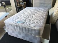"""4ft 6"""" 2 draw storage divan bed (FREE DELIVERY)"""