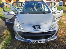 Peugeot 207 sw 1.4 (2008) petrol