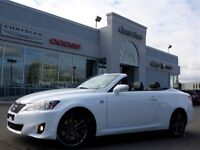 2013 Lexus IS350C F-SPORT CONVERTIBLE NAV LEATHER BACKUP CAM 18