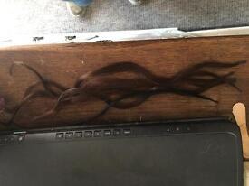 Real hair extensions micro loop