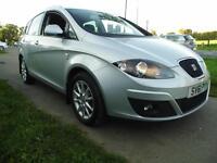 SEAT ALTEA XL 2.0 TDI CR SE DSG Auto (ice silver) 2011