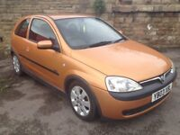 LOW MILEAGE VAUXHALL CORSA SXi.. CLEAN TIDY CAR.. LOW INSURANCE ON THE SXi