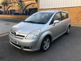 TOYOTA COROLLA VERSO 18 VVT-I T SPIRIT MPV 7 SEATER WITH FULL SERVICE HISTROY AND MOT