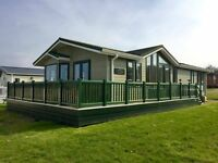 Stunning Lodge for sale Isle Of Wight, sea & countryside views, 12 month park, not a static caravan