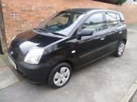 PICANTO 1L 2006 REG WITH FULL MOT, FULL SERVICE HISTORY AND NEW CLUTCH (CHEAP INSURANCE)