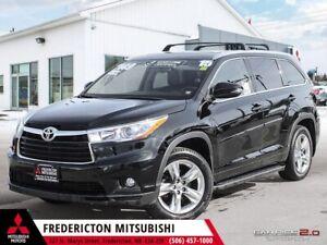 2015 Toyota Highlander Limited AWD | HEATED/COOLED LEATHER | NAV
