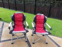 Quest Elite Commander folding chairs