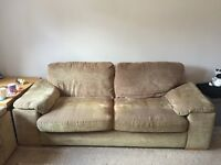 Two 3 seater Harveys Sofa settees 210x90cm used but good condition. NEED TO GO ASAP