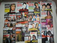 """TOTAL GUITAR"" MAGASINES FOR THE YEAR 2000"