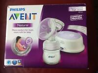 Avent- single electric breast pump.